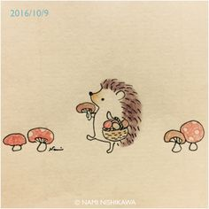 Pickin mushrooms