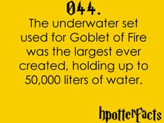 Harry Potter Facts #044