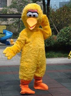 大鳥着ぐるみ,ビッグバード着ぐるみ,セサミストリートキャラクター http://www.mascotshows.jp/product/big-bird-mascot-adult-costume.html