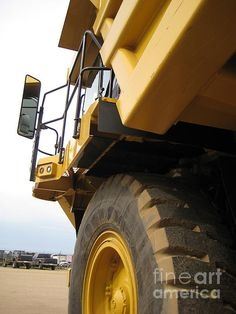 Caterpillar Equipment  CAT 777   Cat Truck Caterpillar truck  art photo sales