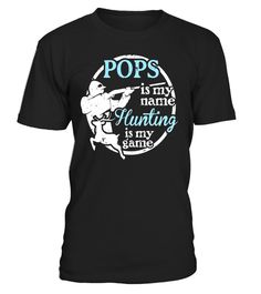 "# Pops T-Shirt - Hunting is My Game! .  Special Offer, not available in shops      Comes in a variety of styles and colours      Buy yours now before it is too late!      Secured payment via Visa / Mastercard / Amex / PayPal      How to place an order            Choose the model from the drop-down menu      Click on ""Buy it now""      Choose the size and the quantity      Add your delivery address and bank details      And that's it!      Tags: Funny Hunting T-Shirt for Grandpa Pops and…"