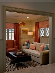 Den Design Ideas wallpapered wainscoting Many Older Homes Have Awkward Small Rooms Maybe Its A Small Dining Room Or Unoccupied