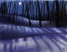 Full Snow Moon Tonight February 25, 2013 | Cherokee Billie's Blog