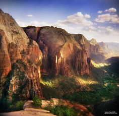 ~ Zion National Park ~ Utah....You will see something new every time you go. No matter how often you go.