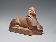 Sphinx of Thutmose III  Date: ca. 1479–1425 B.C.  Accession Number: 08.202.6
