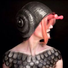 Urethane Rubber Snail Shell Helmets That Comfortably Fit Over Your Head