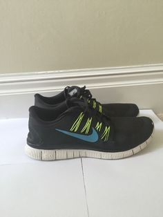 Tout Noir Nike Free Run Enchère Ebay