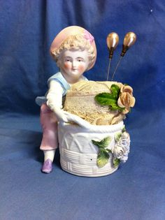 Antique Victorian Parian Bisque porcelain ceramic  by Since1971, $35.00