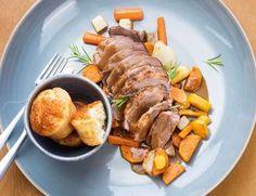 Rezept Tipp: Lammkrone / Mangosauce - Falstaff Falstaff, Tonka Bohne, Pak Choi, Brunch, Pork, Turkey, Meat, Gourmet, Top Recipes