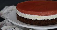 A közismert Fanta szelet most torta formában, és nem narancs, hanem málna ízű üdítő felhasználásával készült.   Egy József nevű k... Izu, Cheesecake, Recipes, Food, Cakes, Birthday, Food Cakes, Meal, Birthdays