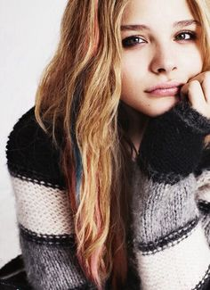 Chloe Grace Moretz is the actress who will play Ashley Munroe in Stella's secrets (if it is ever made into a movie)...