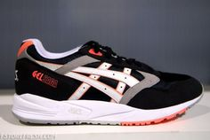 asics gel saga - black/white/infrared    http://sneakernews.com/2012/01/11/asics-gel-saga-black-white-infrared/