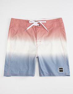 d31ba1d5e7 EZEKIEL Liberty Mens Boardshorts Red Surf Shorts, Mens Boardshorts, Man  Swimming, Swim Trunks