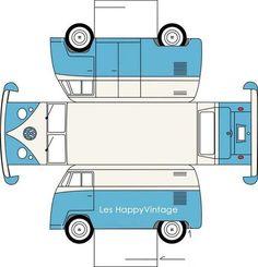 .:* L - VW Van at Les Happy Vintage