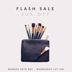 Today is the LAST DAY of our off flash sale! This is your last chance to pick up the essentials at discounted prices! To shop, visit the link in our bio! Lip Makeup, Makeup Cosmetics, Makeup Brushes, Happy New Years Eve, Makeup Sale, New Year New You, Make Up Time, New Years Sales, Discount Makeup