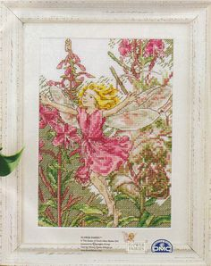 rose bay willow herb fairie natty's cross stitch corner: fairies