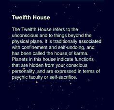 (12th house) (astrology)  https://www.facebook.com/TheZodiacZone
