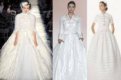 Chanel haute couture Wedding Dress Inspiration
