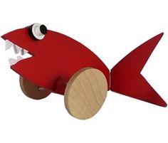 Alexander Calder dragdjur STOR, Fisk