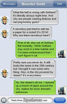 Marvel Vs, Marvel Funny, Marvel Dc Comics, Funny Comics, Dark Comics, Geeks, Superhero Texts, Comic Text, Im Batman