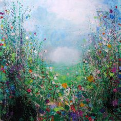 "Saatchi Online Artist Sandy Dooley; Painting, ""Landscape for Lovers (sold)"" #art"