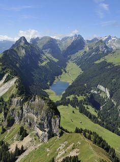 In sweeping Appenzell, Switzerland.