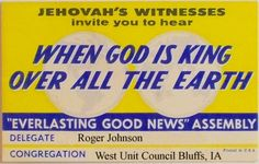 1963 International Assembly badge
