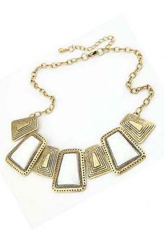 Metagems temperament necklace(3 colors)