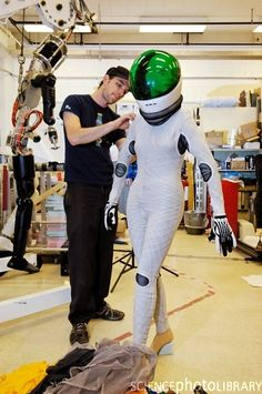 Astronaut Fashion:  The Modern Spacesuit - http://mydisguises.com