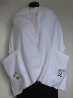 An Easy to Make Warm and Practical Fleece Shawl: Materials Needed to Sew a Shawl with Pockets