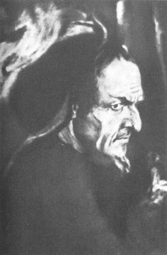 Feodor Chaliapin as Mephistopheles in Gounod's Faust (1910)
