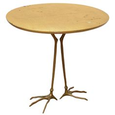 Traccia Table by Meret Oppenheim | From a unique collection of antique and modern coffee and cocktail tables at http://www.1stdibs.com/furniture/tables/coffee-tables-cocktail-tables/