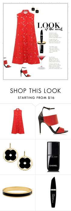 """""""Ingenue"""" by patricia-dimmick on Polyvore featuring Alice + Olivia, McQ by Alexander McQueen, Asha by ADM, CABARET, Chanel, Halcyon Days, Max Factor, reddress and lacedress"""