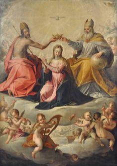 Coronation of Mary - Hans von Aachen