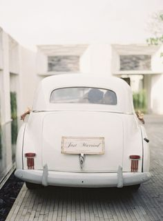 Just Married Photography by Caroline Tran Photography / carolinetran.net, Planning by Gusri / gusriweddingservi...