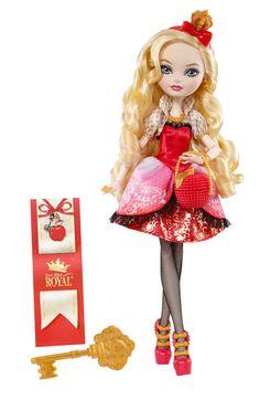 Apple White Basic Doll