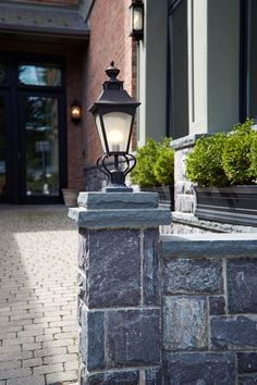 quoizel newbury outdoor lighting collection including post light