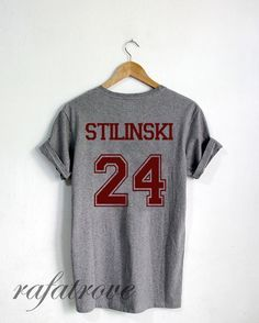 Stiles Stilinski Shirt Beacon Hills Teen Wolf Tshirt by RafaTrove
