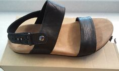 Toms Shoes Men's Black Leather Moreno Black  Size 11 #TomsShoes #Strap