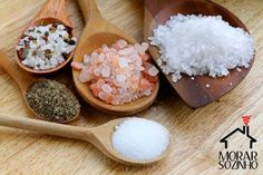 Tipos de Sal: Como e quais usar?
