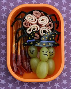 Halloween Bento Lunchbox Fun | Chocolate Cake Moments