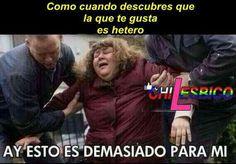 Como cuando la que te gusta es hetero #lesbianas #humor #lesbianashumor #lesbianaschile #lesbianasamor #Chilesbico