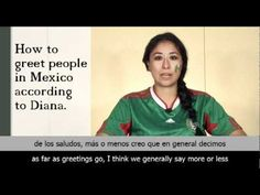 46 best conversarpresentarse images on pinterest spanish class how to greet people in mexico according to diana m4hsunfo