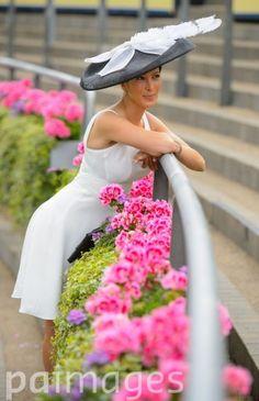 Princess Tamara Czartoryski on Day Two of the 2014 Royal Ascot Meeting at Ascot Racecourse, Berkshire.
