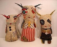 I love these dolls, I think I must try my hand at doll making