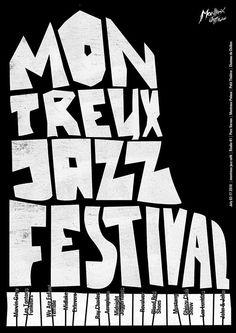 MONTREUX JAZZ FESTIVAL: poster, 2010 © Svyat Vishnyakov