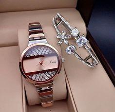 Creativos y Geniales Watches ⏱ @ joud- Watches ⏱جود الغمغام Watches ⏱ Presence of mu. Fancy Watches, Simple Watches, Trendy Watches, Cute Watches, Popular Watches, Expensive Watches, Elegant Watches, Beautiful Watches, Unique Watches