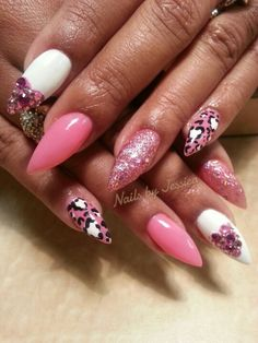 Valentine's nail designs