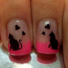 http://decoraciondeunas.com.mx/post/103214198612/unas-gel-francesa-rosas-gatos-corazones-nails-mod | #moda, #fashion, #nails, #like, #uñas, #trend, #style, #nice, #chic, #girls, #nailart, #inspiration, #art, #pretty, #cute, uñas decoradas, estilos de uñas, uñas de gel, uñas postizas, #gelish, #barniz, esmalte para uñas, modelos de uñas, uñas decoradas, decoracion de uñas, uñas pintadas, barniz para uñas, manicure, #glitter, gel nails, fashion nails, beautiful nails, #stylish, nail styles
