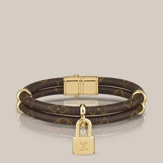 "Louis Vuitton ""Keep It Twice Monogram"" armbånd, 17 cm, ca. 2100,-"